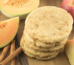 cookie apple melon